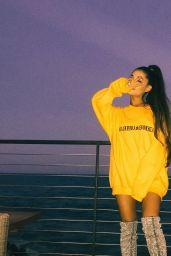 Ariana Grande - Social Media Pics, August 2017