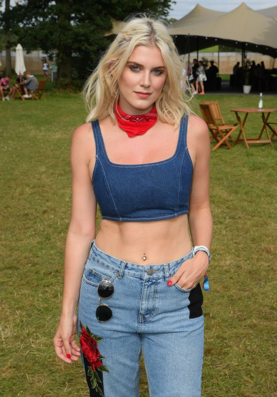 Ashley James – V Festival at Hylands Park in Chelmsford, UK