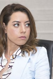 "Aubrey Plaza - ""Ingrid Goes West"" Press Conference in Hollywood 08/10/2017"