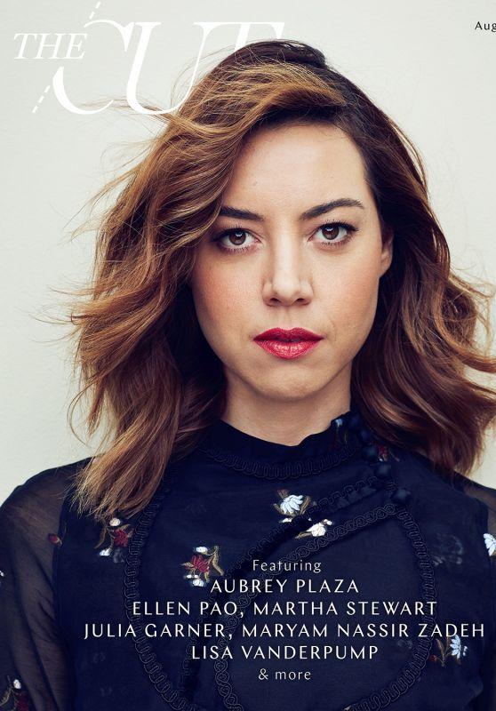 Aubrey Plaza - The Cut Magazine August 2017