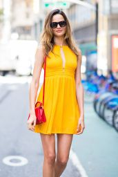 Barbara Fialho Street Fashion - New York 08/24/2017