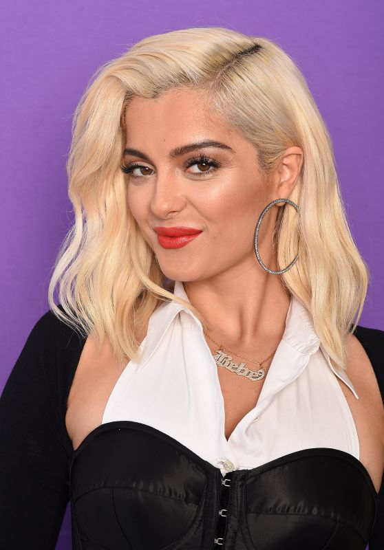 Bebe Rexha - TCA Portraits at the Galen Center in Los Angeles 08/13/2017