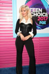 Bebe Rexha – Teen Choice Awards in Los Angeles 08/13/2017