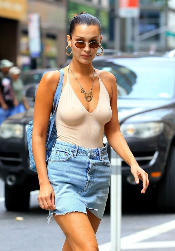 Bella Hadid - Heads to the Victoria