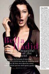 Bella Hadid - Marie Claire South Africa September 2017 Issue