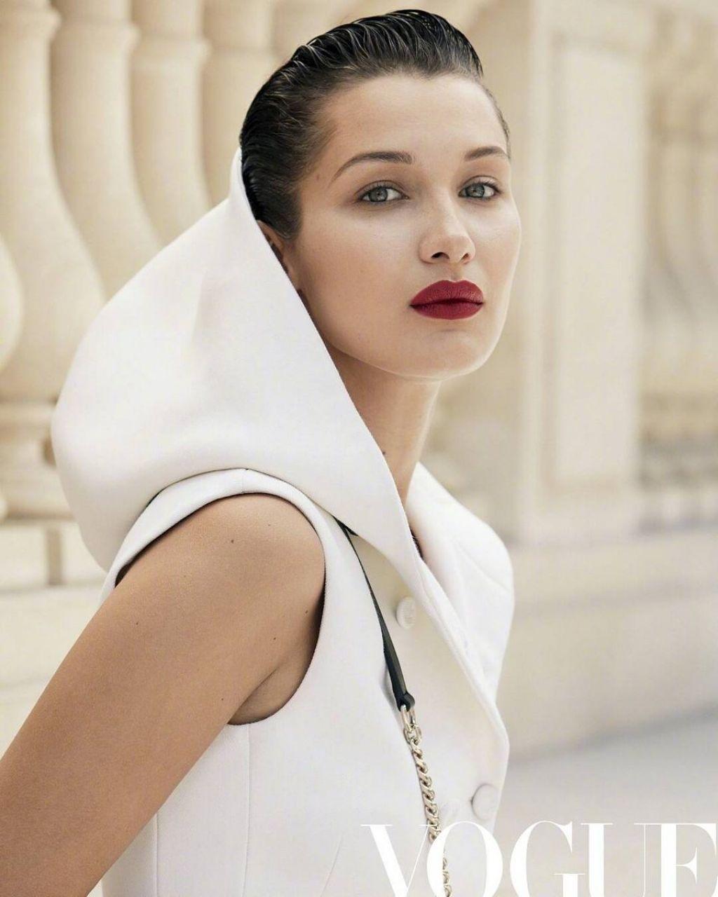 Bella Hadid Vogue Magazine China 2017