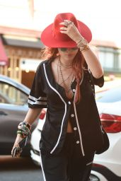 Bella Thorne - Goes Into a Medical Building in LA 08/28/2017