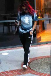 Bella Thorne Street Style - Los Angeles, California 08/22/2017