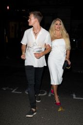 Bianca Gascoigne – BoohooMan by Kem Cetinay Launch Party in London, UK 08/24/2017