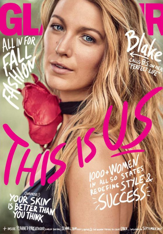 Blake Lively - Glamour Magazine September 2017 Issue