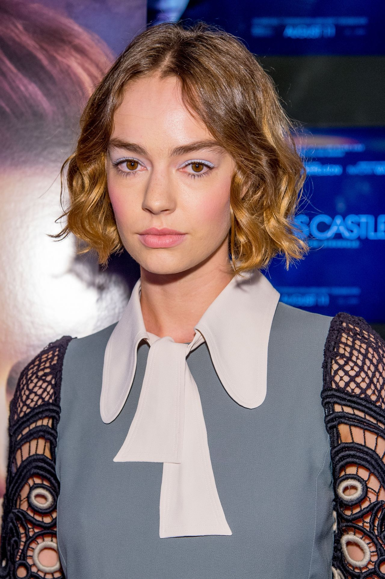 Brigette Lundy Paine  The Glass Castle Premiere in New - Beth Moore Hairstyles