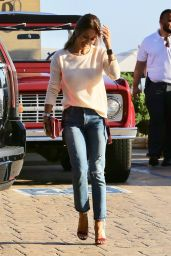 Brooke Burke Casual Style - Out for Lunch at Nobu in Malibu 08/10/2017