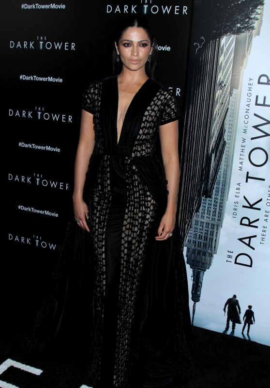 "Camila Alves - ""The Dark Tower"" Premiere at the Museum of Modern Art in NY 07/31/2017"