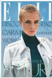 Cara Delevingne - ELLE Magazine UK September 2017 Issue