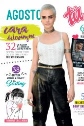 Cara Delevingne - Tú Magazine Colombia August 2017 Issue