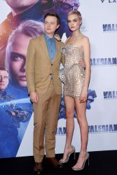 """Cara Delevingne - """"Valerian and the City of a Thousand Planets"""" Premiere in Mexico City 08/02/2017"""