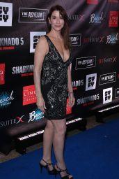 "Caroline Williams – ""Sharknado 5: Global Swarming"" Premiere in Las Vegas 08/06/2017"