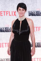 """Carrie-Anne Moss – """"The Defenders"""" TV Show Premiere in NYC 07/31/2017"""