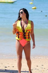Casey Batchelor in Swimsuit - Jet Skiing in Portugal 08/17/20172017 x24