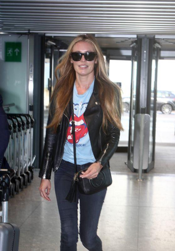Cat Deeley - Heathrow Airport in London 08/05/2017
