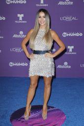 "Catherine Siachoque – ""Premios Tu Mundo"" in Miami 08/24/2017"