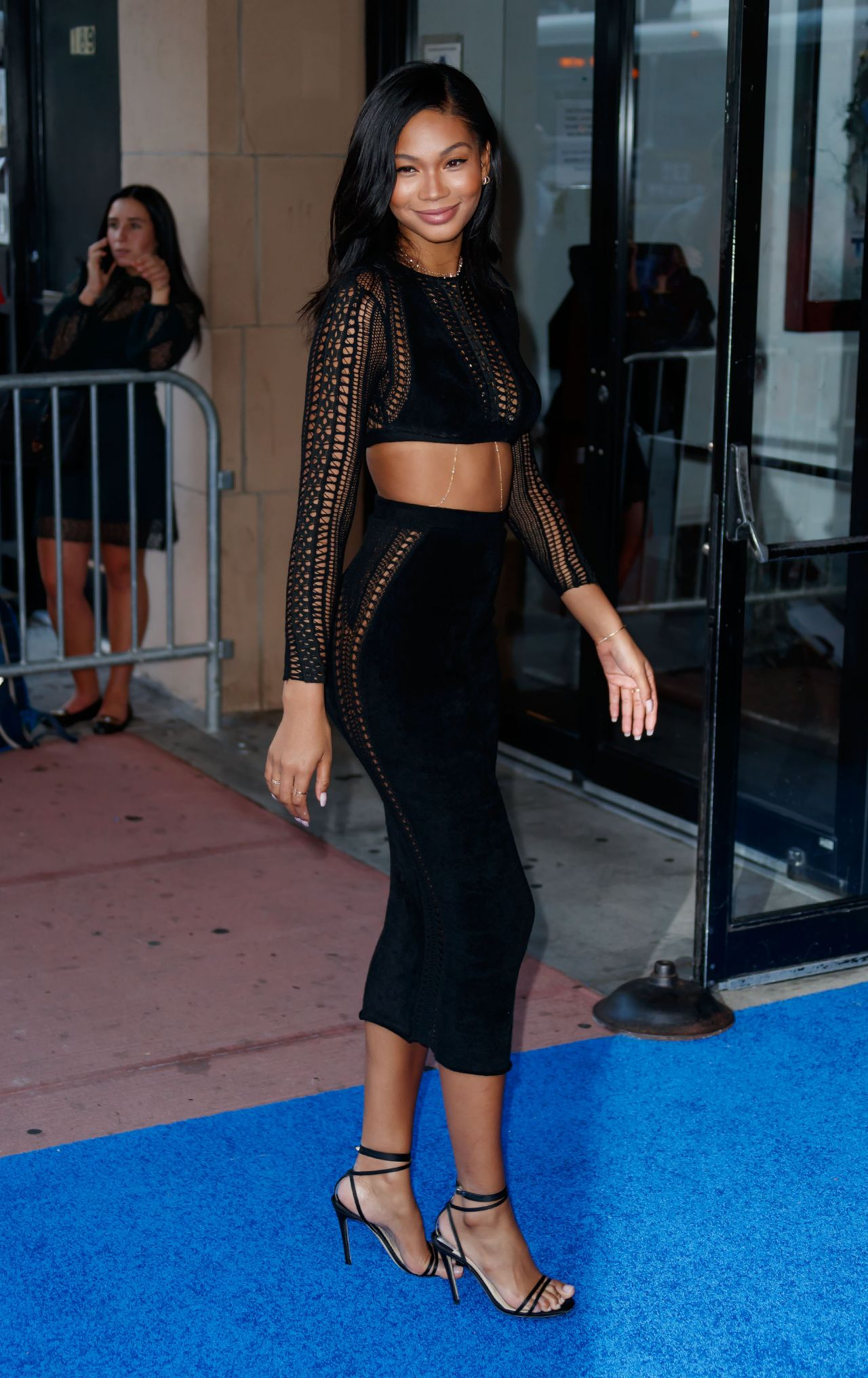 Chanel Iman The Tick Premiere In Nyc 08 16 2017