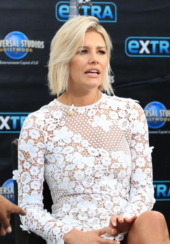"Charissa Thompson - Appeared on ""Extra"" in Los Angeles 08/15/2017"