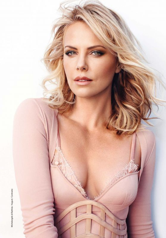 Charlize Theron - F Magazine August 2017 Issue