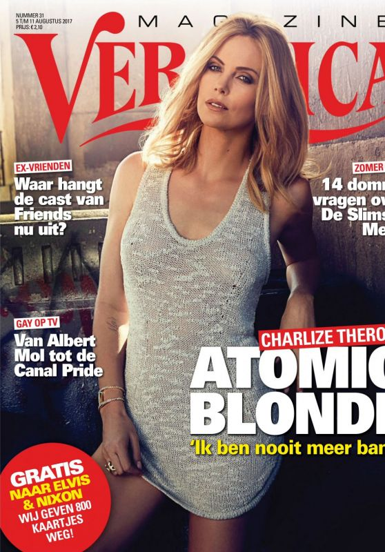 Charlize Theron - Veronica Magazine August 2017 Issue