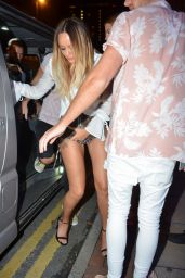 Charlotte Crosby Arriving at History Nightclub in Manchester 08/12/2017