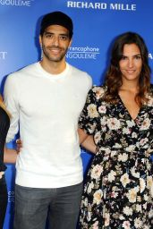 "Charlotte Gabris & Andy Raconte - ""Épouse-moi mon pote"" Photocall in Angouleme, France 08/25/2017"