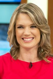 "Charlotte Hawkins at ""This Morning"" TV Show in London 08/21/2017"