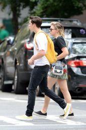 Chloe Grace Moretz With Brooklyn Beckham in New York City 08/25/2017