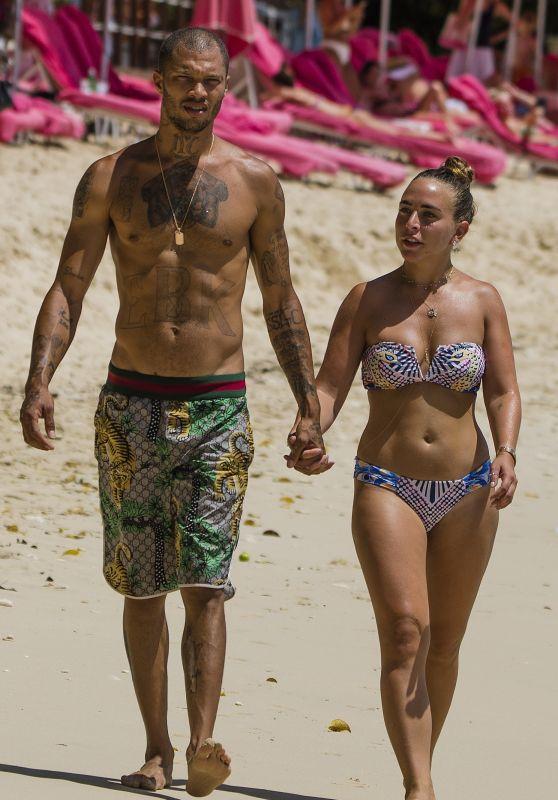 Chloe Green and Jeremy Meeks - Barbados 08/05/2017