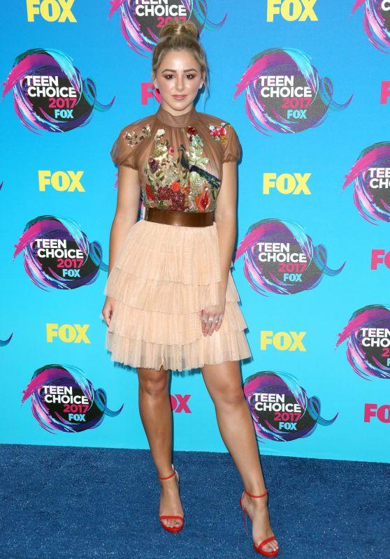 Chloe Lukasiak – Teen Choice Awards in Los Angeles 08/13/2017
