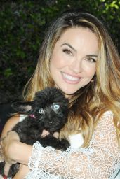 """Chrishell Stause - """"Daytime for Dogs"""" To Benefit Dharma Rescue for Disabled Dogs, Los Angeles 08/18/2017"""