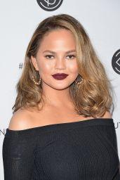 Chrissy Teigen – Beautycon Festival in Los Angeles 08/13/2017