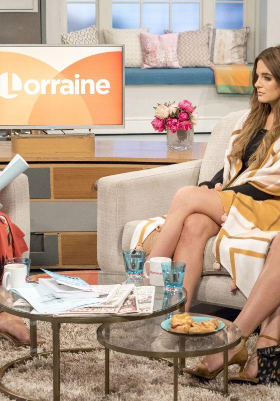 Christine Bleakley - Lorraine TV show in London 08/01/2017