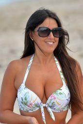 Claudia Romani in Bikini - West Palm Beach 08/19/2017