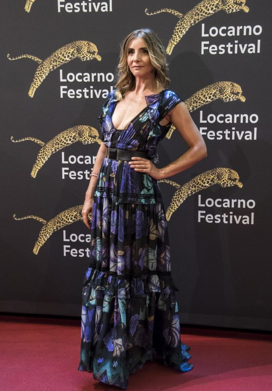 Clotilde Courau – Locarno International Film Festival, Switzerland 08/04/2017