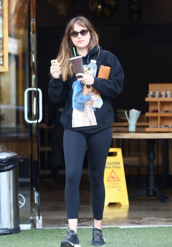 Dakota Johnson - Stops by Kreation in West Hollywood 08/15/2017