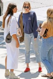 Dakota Johnson Street Style - Out in Los Angeles 08/22/2017
