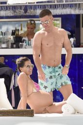 Danielle Lloyd in Bikini in Monte Carlo 08/02/2017