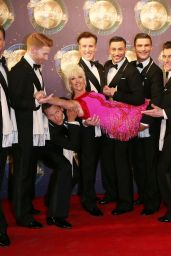 """Debbie McGee - """"Strictly Come Dancing"""" Launch at BBC Broadcasting House in London 08/28/2017"""