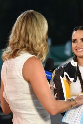 Demi Lovato - Concert on Good Morning America in Central Park, NY 08/18/2017
