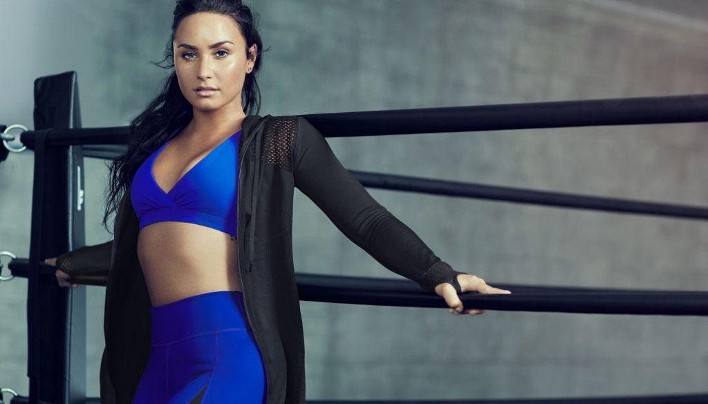 Demi Lovato - Flabetics Photoshoot August 2017