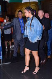 """Demi Lovato - Goes to See """"Dear Evan Hansen"""" Musical in NYC 08/19/2017"""
