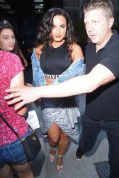 Demi Lovato - Leaving Her Hotel in NYC 08/19/2017