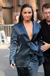 Demi Lovato - Leaving Z100 Radio Station Studios in NYC 08/17/2017