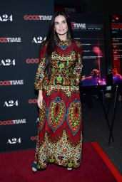 """Demi Moore – """"Good Time"""" Premiere in New York 08/08/2017"""